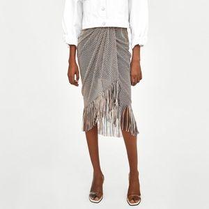 Zara Skirt with Fringe